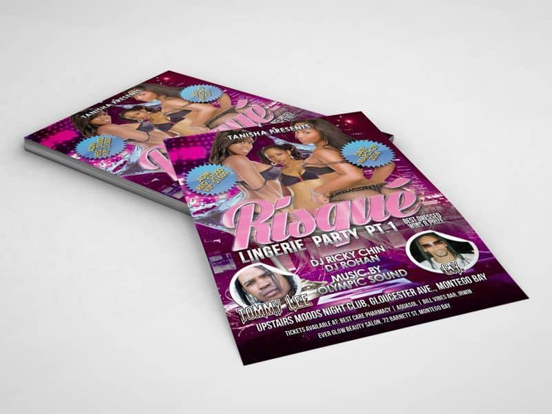 risque-party-flyer